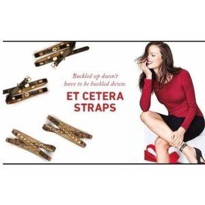 CAbi Et Cetera ankle straps/wrap bracelets